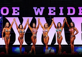 Podio Fitness Olympia 2012