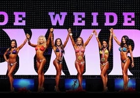 Podio Bikini Olympia 2012