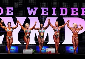 Podio Miss Olympia 2012