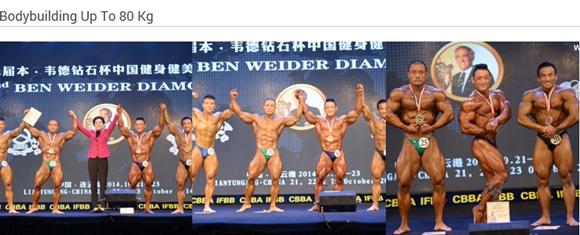 Ben Weider China 2014