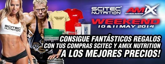 Promo Amix + Scitec Nutrition