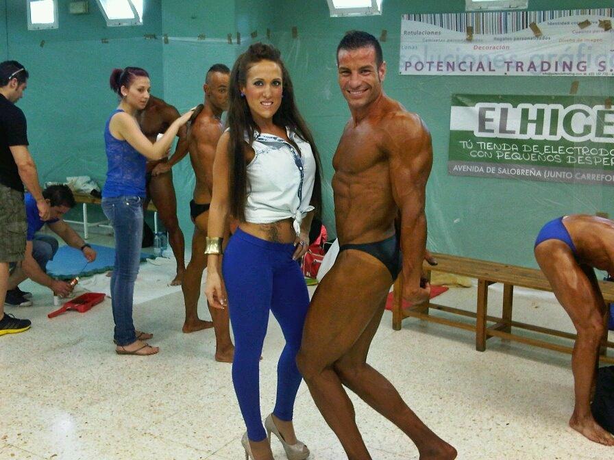 El open nacional y campeonato regional de culturismo for Gimnasio con piscina granada