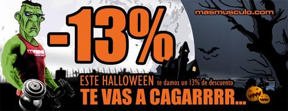 MASmusculo Descuentos Halloween