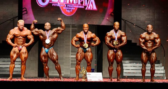 MASmusculo Team - Mr Olympia 2014